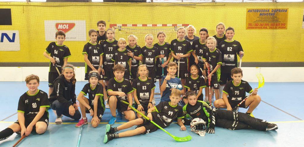 1. ligový turnaj mladších žáků v Písku!!!