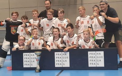 Mlži vyrazili opět s Gorilama do Prahy na turnaj TatranCUP!