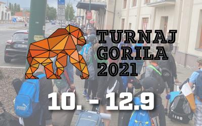 V pátek vyráží naše kategorie na turnaj Gorila do Plzně.